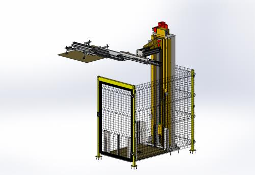 Separator or Tie Sheet Dispenser Unit